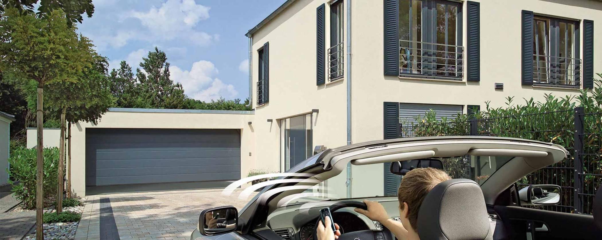 Garagentor Antrieb elektrisch mit Fernbedienung von Hörmann Hannover