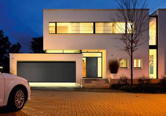 Sectionaltor Edel Anthrazit Garage Hörmann Hannover